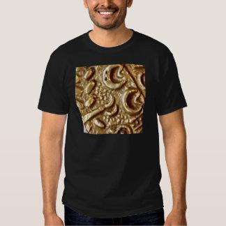 Metal detecting celtic gold coin design tshirt