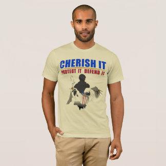 Metal Detecting Infidel Official Brand  -Cherish T-Shirt