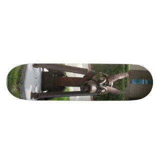 Metal Dog Skateboard