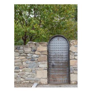 Metal Door And Wall Postcard