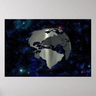 Metal Earth Poster