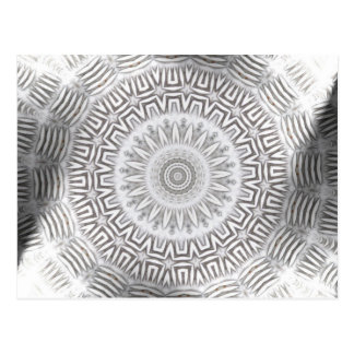 METAL Element Kaleido Pattern Postcard