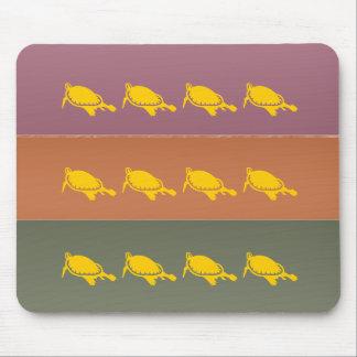 Metal Finish - Aquatic Tortoise Ocean Lakes Mouse Pad