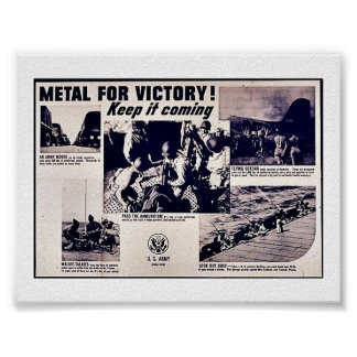 Metal For Victory! Print