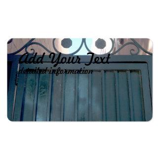 metal gate door pack of standard business cards