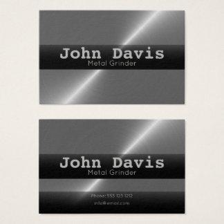 Metal Grinder business cards