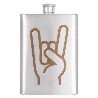 Metal Hand Hip Flask