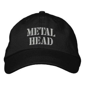 METAL HEAD BASEBALL CAP