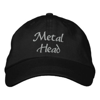 Metal Head Embroidered Embroidered Baseball Caps