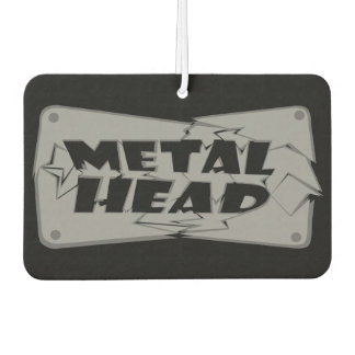 Metal Head Music Car Air Freshener