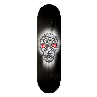 Metal Head No Logo Skateboard