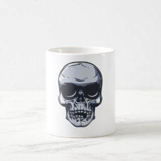 Metal head skull metal skull coffee mug