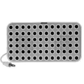 Metal Holes Grill (faux) Notebook Speaker