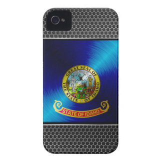 Metal Idaho Flag Case-Mate iPhone 4 Case