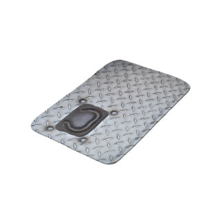 Metal Industrial Look Bath Mat (Small)