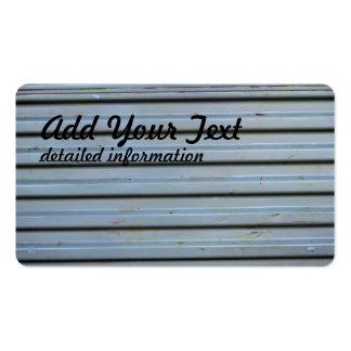 Metal industry door pack of standard business cards