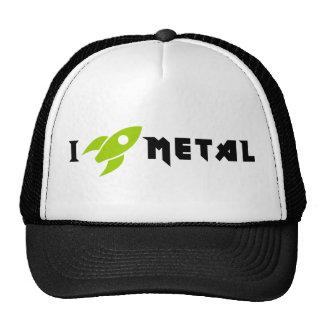 Metal Lid Trucker Hats