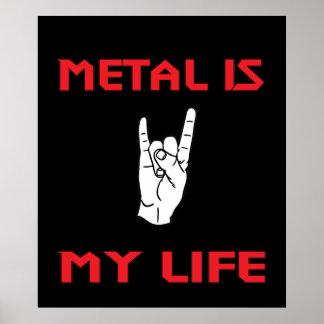Metal Life Poster