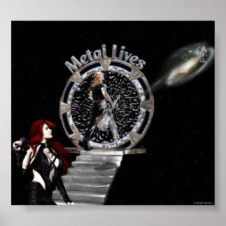Metal Lives! Posters & Prints