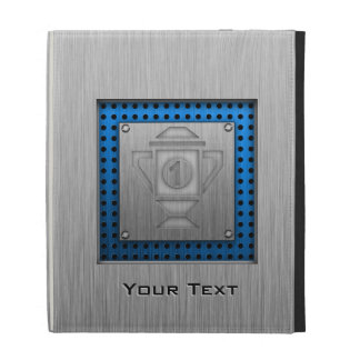 Metal-look 1st Place Trophy iPad Folio Cover