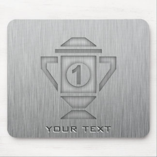 Metal-look 1st Place Trophy Mouse Pad