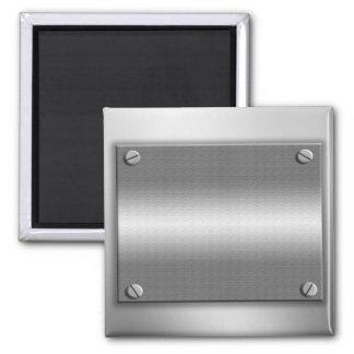 Metal Look Frame With Screws Magnet