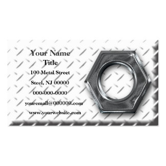 Metal Machining Pack Of Standard Business Cards
