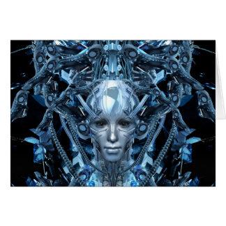 Metal Maiden Card