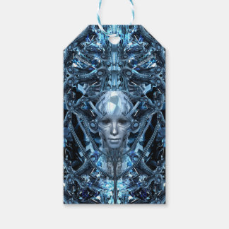 Metal Maiden Gift Tags