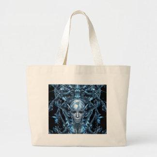 Metal Maiden Large Tote Bag