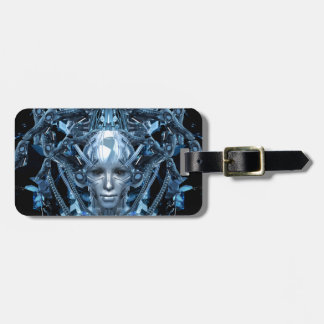Metal Maiden Luggage Tag