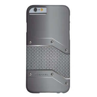Metal Metallic Style Barely There iPhone 6 Case