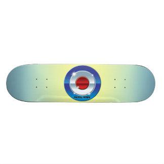 Metal Mods Custom Skate Board