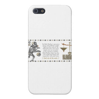 Metal Monkey born in Libra 1980 iPhone 5/5S Cases