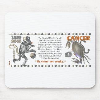 Metal Monkey zodiac born Cancer 1980 Mouse Pads