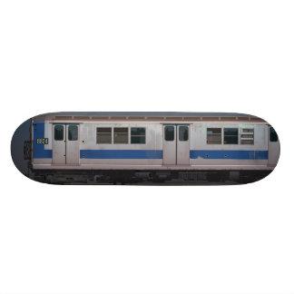 Metal Monsters - NYC Train 21.6 Cm Skateboard Deck