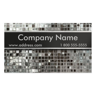 Metal Mosaic And Nameplate Business Cards