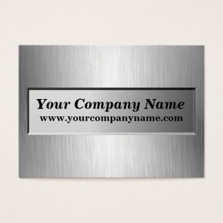 Metal Nameplate Company Business Cards