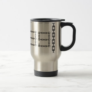 metal numbers travel mug