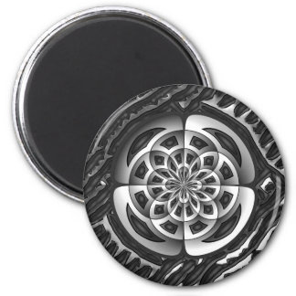 Metal object 6 cm round magnet