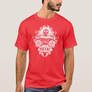 METAL! Old School Boombox T-Shirt