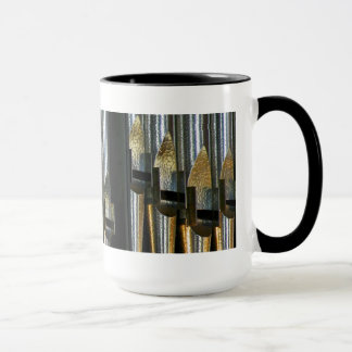 Metal organ pipes mug