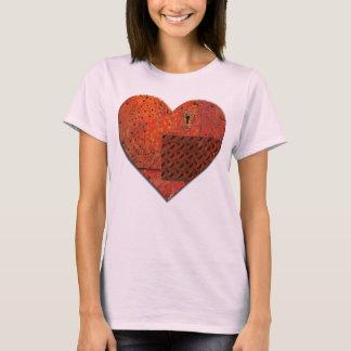 Metal Patchwork Heart T-Shirt