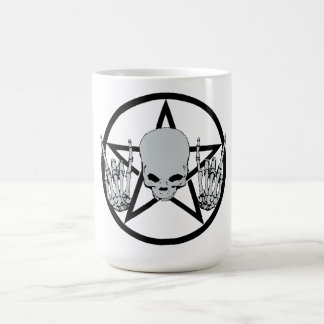 Metal Pentagram Mug
