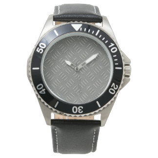 Metal Plate Fashion Watch by Julie Everhart