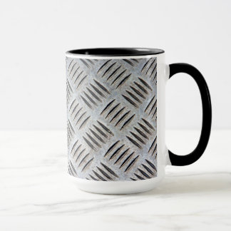 Metal Plate Texture Mug