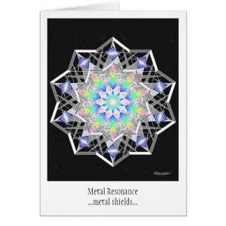 Metal Resonance Card