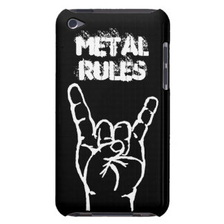 Metal Rules iTouch 4 Case - Black