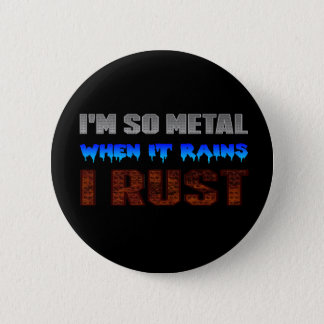 Metal Rust Button