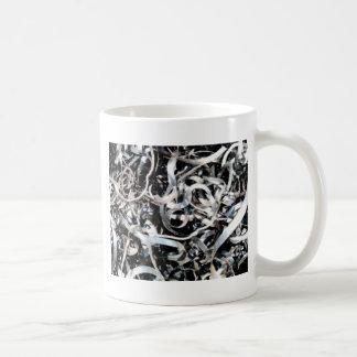 metal scrap tangle coffee mug